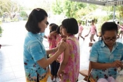 ฉีดวัคซีนป้องกันมะเร็งปากมดลูก(HPV)